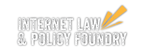 Internet Law & Policy Foundry Logo